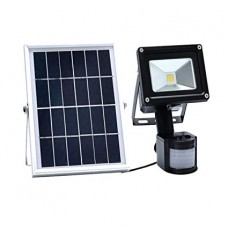 10W SOLAR LED  FLOOD LIGHT WITH MOTION SENSOR