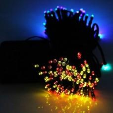 SOLAR LED FAIRY LIGHTS COLOUR RGB
