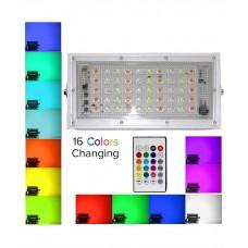 FLOOD LIGHT LED LENS RGB- 50W COLOUR
