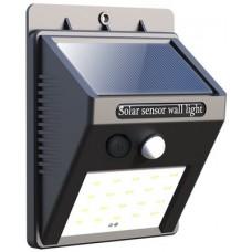SOLAR POWER 20 LED MOTION SENSOR WALL LIGHT